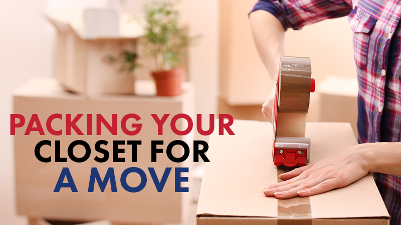Packing Your Closet For a Move